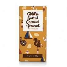 Gnaw  Salted Caramel & Peanut Milk Chocolate Bar